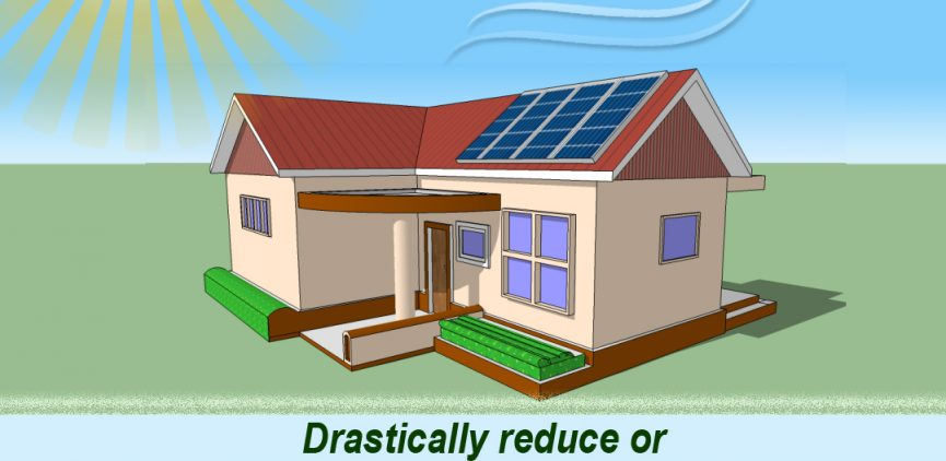 Drastically reduce or even eliminate your electric bills with Auxano home solar system